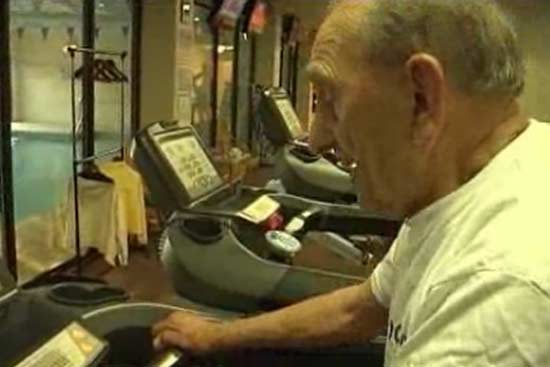 Meet 102-year-old Who Works Out at Gym Five Times a Week