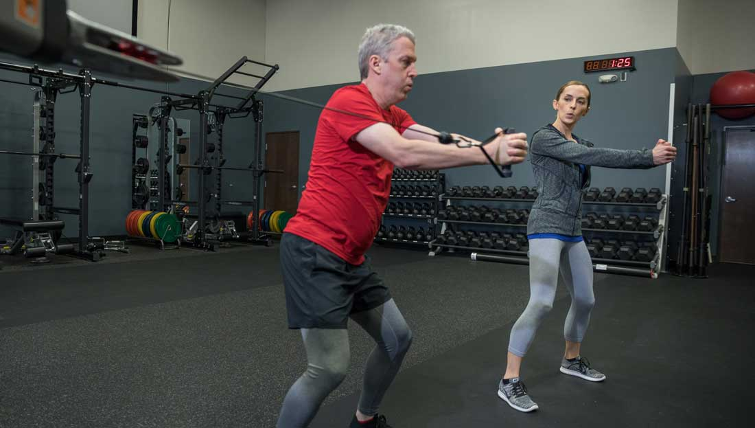 Using the ACE Integrated Fitness Training<sup>® </sup>Model with Post-rehab Clients