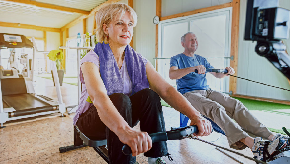 High-intensity Interval Training for Active Older Adults