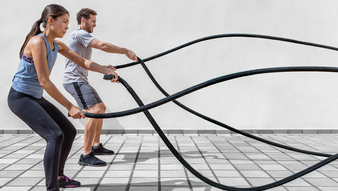 ACE-SPONSORED RESEARCH: The Relative Intensity and Energy Expenditure of Battle Rope Exercise