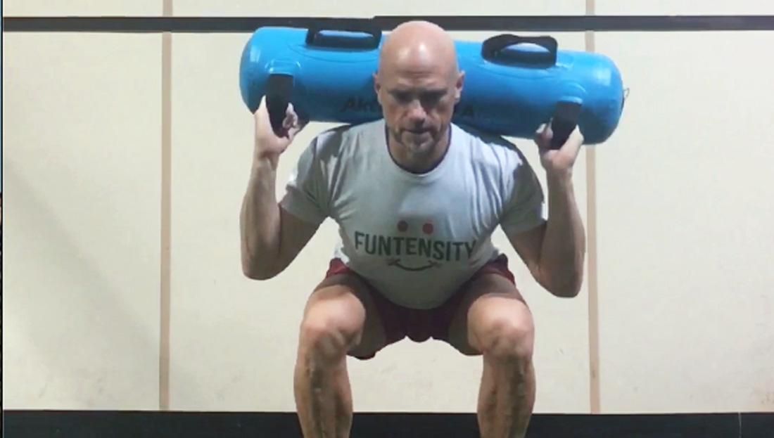 Aqua Bag: An ACE Integrated Fitness Training<sup>®</sup> Model Workout