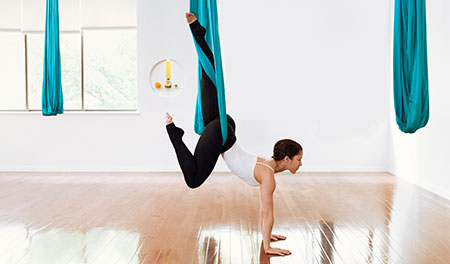 ACE-SPONSORED RESEARCH: Can Aerial Yoga Take Your Workouts to Another Level?