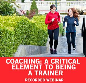 Coaching Webinar