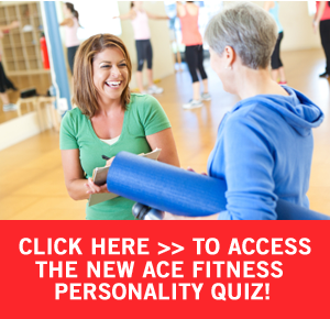 ACE Fitness personality Quiz