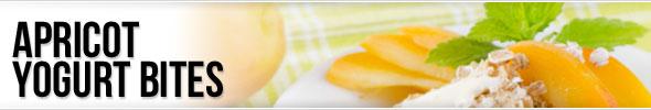Apricot Yogurt Bites
