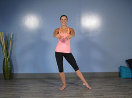 ballet points pose