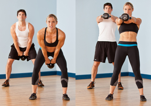 Kettlebell Hard Swings