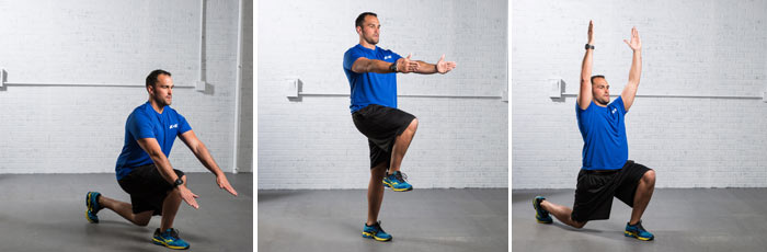 Combo Lunge