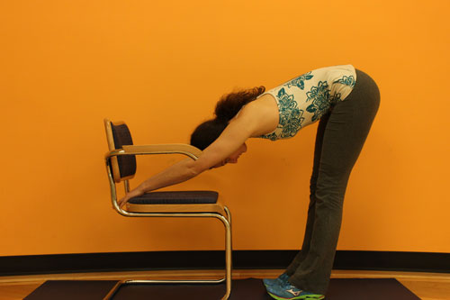 Desk Downward Facing Dog
