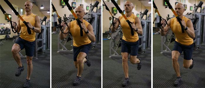 Balance Lunge With Hop