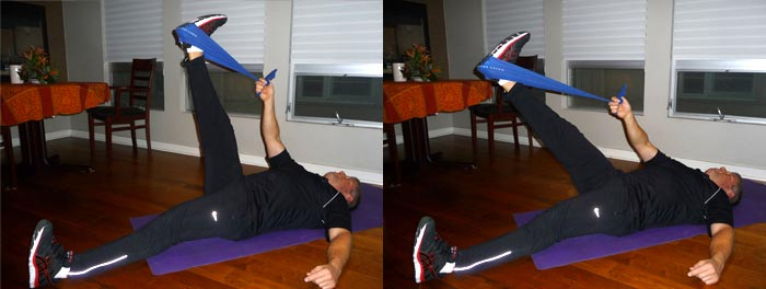 Lying Hamstrings Stretch