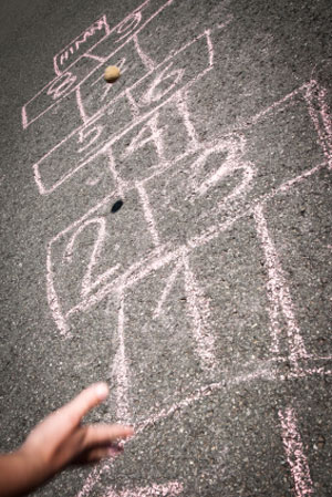 hopscotch recess