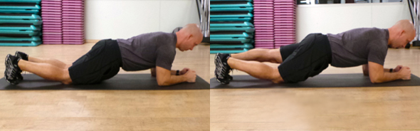 Modified Plank