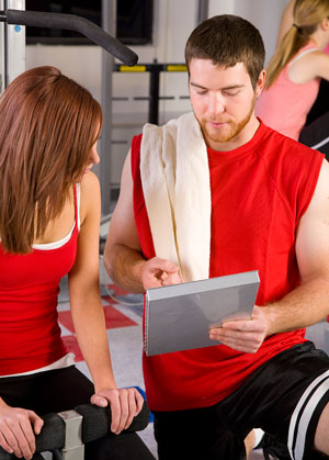 personal trainer adherence client