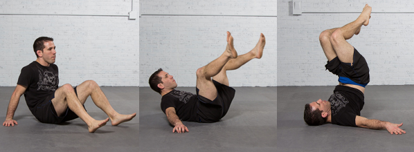 Arm bar from guard