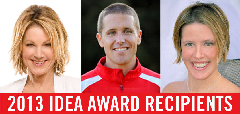 IDEA's 2013 Award Winners: Professional Advice From the Best of the Best   American Council on Exercise   Expert Articles   7/23/2013