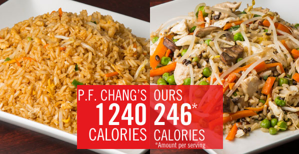 Chain Restaurant Favorites Get a Healthy Makeover: P.F. Changs Chicken Fried Rice | The Nutrition Twins | Expert Articles | 9/18/2013