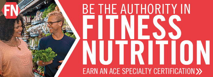 Be the Aurhority in Fitness Nutrition