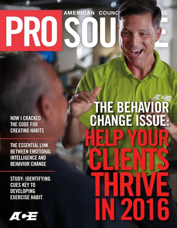 Behavior Change Special Issue